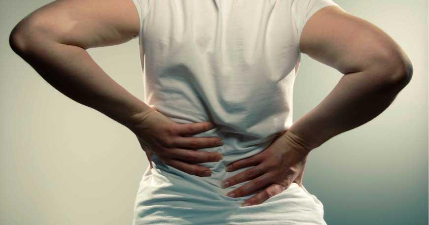 dor nas costas o que pode ser