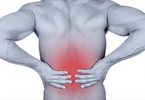 edema nos ligamentos interespinhosos