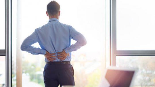 alterações emocionais e dores nas costas