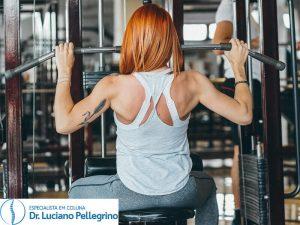treinando as costas para melhorar da dor