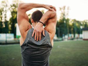 exercitando as costas